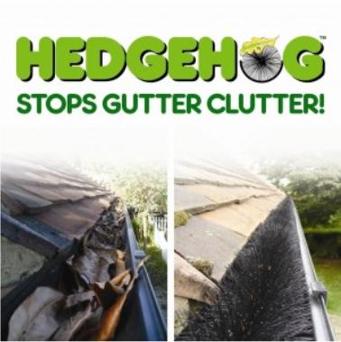 Freefoam - Hedgehog Gutter Brush