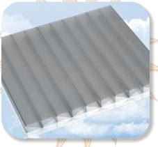 Heatguard on Opal Polycarbonate Sheeting