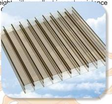 Bronze Polycarbonate Sheeting